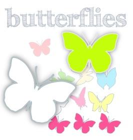 MeinLilaPark – digital freebies: free scrap butterfly png's, border, digi stamps and DIY ideas – Schmetterling Clipart – freebie