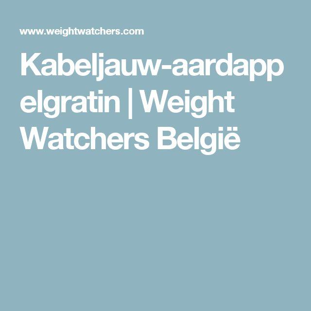 Kabeljauw-aardappelgratin   Weight Watchers België