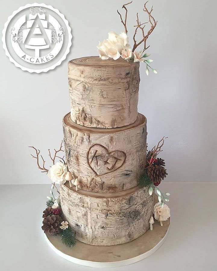 birch tree wedding cake ideas 38 best design cakes autres images on sugar 11768