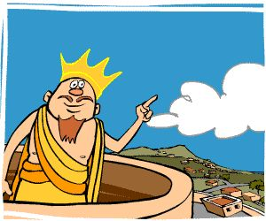 """MythWeb: This """"guaranteed kidsafe"""" site is appropriate for students and teachers with an interest in Greek mythology. Appealing and colorful cartoons (some animated) depict the world of Greek gods and heroes."""