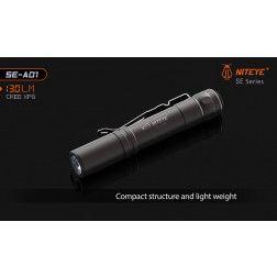 Niteye SE-A01 EDC Pocket Flashlight - 130 Lumens
