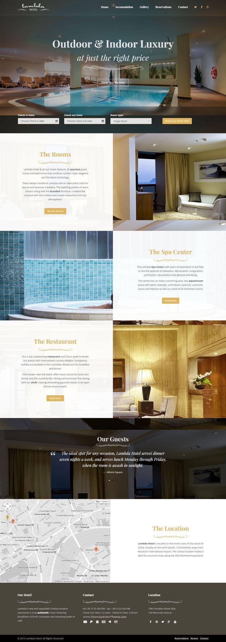 Lambda Is An New Multipurpose Template Super Elegant Design Perfect For A