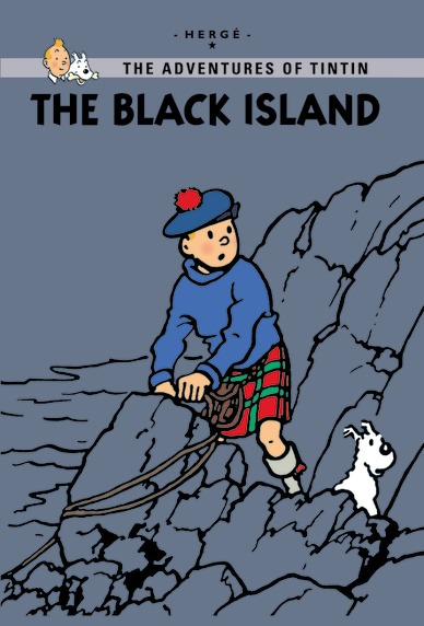 Little, Brown Young Readers The Black Island  Published: December 2011  Tintin travels to Great Britain, where he is in danger from the moment he arrives. He encounters the Thom(p)sons, who are on the trail of a gang of counterfeiters operating from an island off the coast of Scotland. Will Tintin avoid being caught by the wild beast which is said to roam the island? In this new extended edition, 30 extra pages explain the inspiration behind The Black Island. Learn about the real-life…