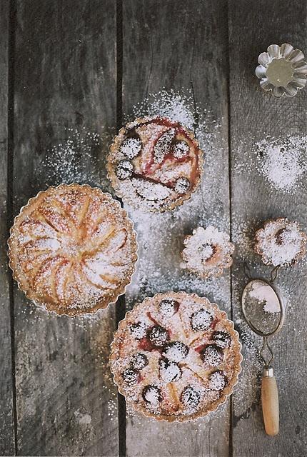baking day - rustic tarts