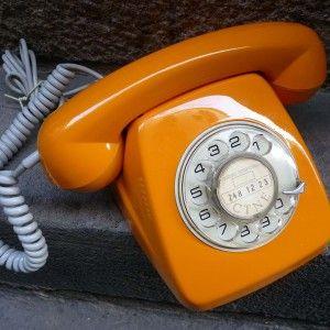 telefono-heraldo-naranja-vintage-mementosbcn-1