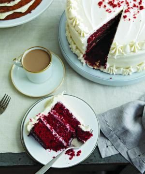 Red Velvet Cake with Cream Cheese Frosting