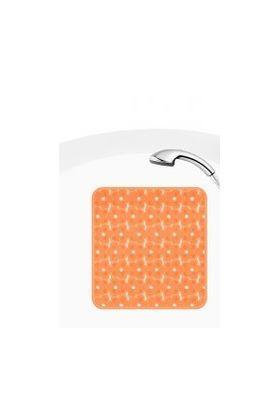 Duscheinlage antirutsch mit Saugnäpfen in orange ca. 53 53 cm