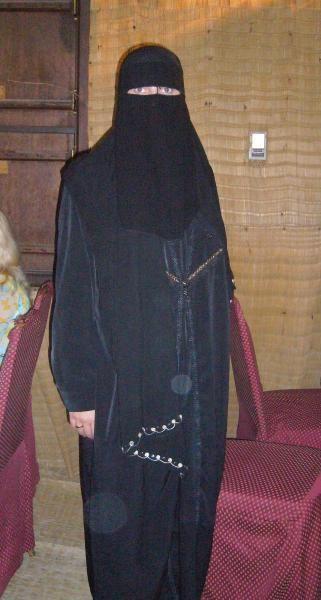 Национальный костюм арабских женщин