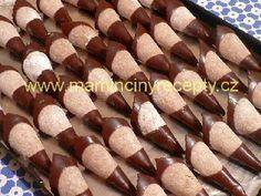 Ořechové kornoutky bez pečení