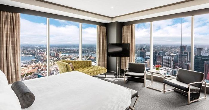 Penthouse Apartments at Meriton Serviced Apartments World Tower in Sydney are located in the iconic World tower from level 61 and above. The Penthouse Apartments offer luxurious accommodation right in the heart of Sydney's CBD (Central Business District).