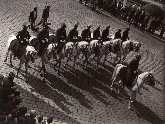 Ceremonial guard for the ceremonial guard 1937