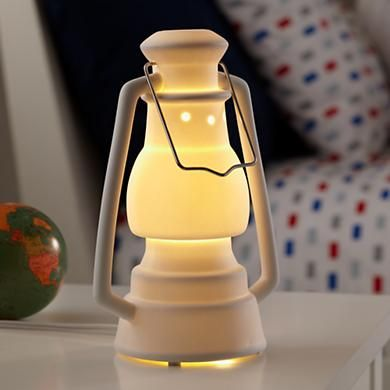 Kids Lantern Nightlight....so cute for a camping themed room