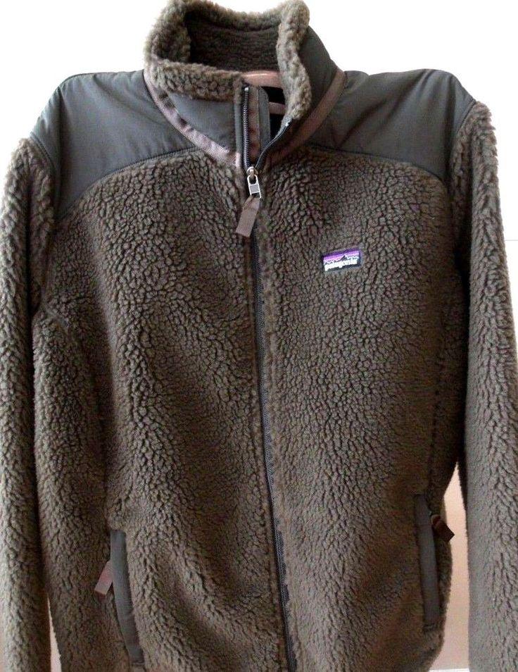 PATAGONIA Retro X Fleece Jacket Full Zip Wind Proof Coat Women's Size XL #Patagonia #FleeceJacket