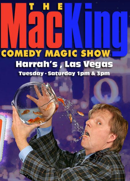 Everyone has a great time at The Mac King Comedy Magic Show at Harrah's Las Vegas! He is FUNNY and super entertaining! From littles to adults... it's a great show! #review #LasVegas #Client