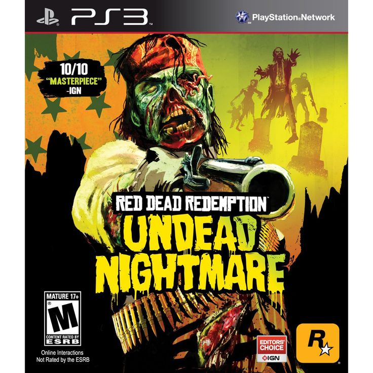The Red Dead Redemption: Undead Nightmare Collection is a collection of three downloadable content (DLC) releases for the open world third-party shooter, Red Dead Redemption on a single PlayStation 3 disc.