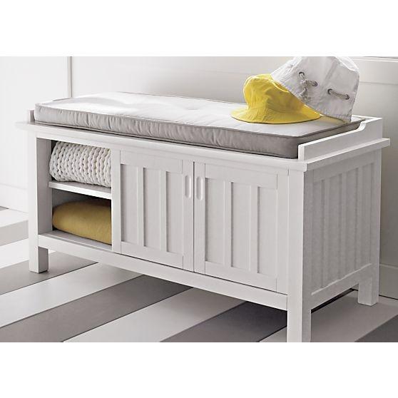 white storage bench on pinterest storage benches hallway bench