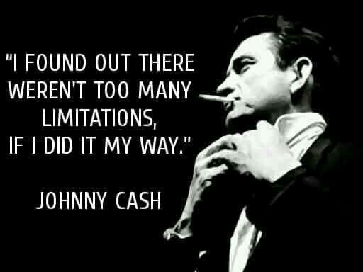 ~ Johnny Cash ~ With optimal health often comes clarity of thought. Click now to visit my blog for your free fitness solutions!