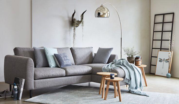 Trendfarbe Grau im Wohnzimmer
