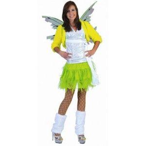 Déguisement ados (teen) jupe tulle fluo vert chic, carnaval, déguisement fluo enfant, anniversaire, danse, déguisements ados pas chère, fêtes, spectacle