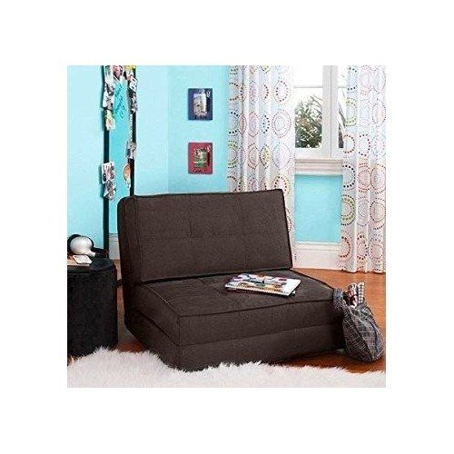 Your zone flip chair convertible sleeper - Amazon bedroom chairs and stools ...