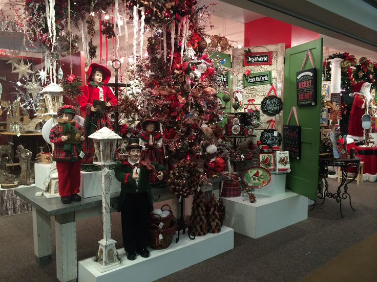 Christmas Display from our Dallas Showroom at the Dallas Market ...