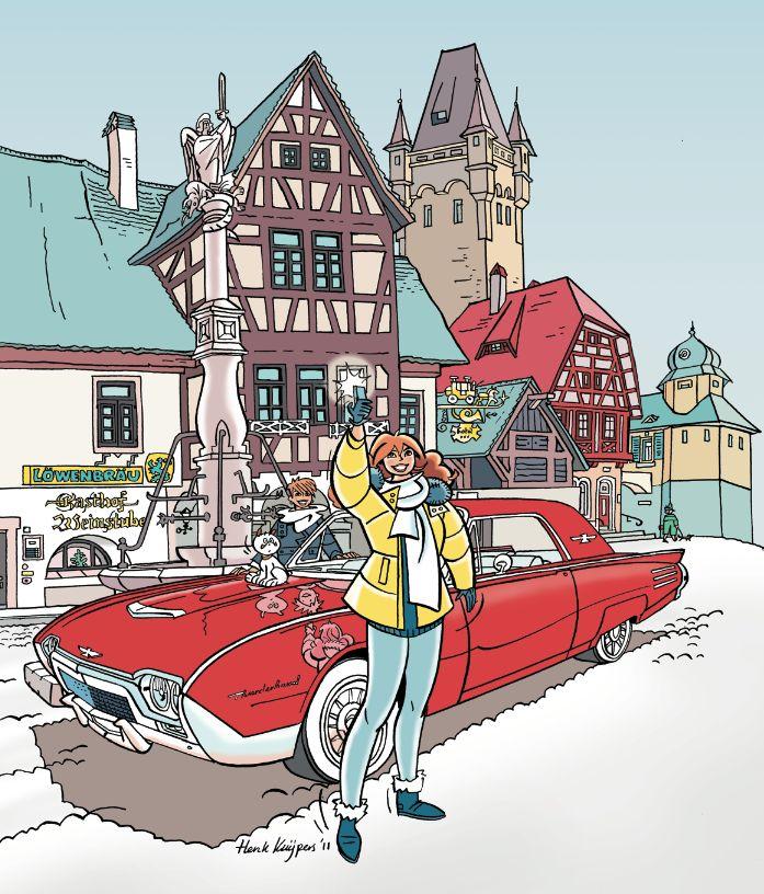 Het nieuwe Franka avontuur 'Onderwereld' van start ...    In Eppo 18, die zal verschijnen rond 8 september, begint het 22'ste Franka avontuur 'Onderwereld' !    Uniek is dat dit verhaal eerst helemaal in potlood is getekend, en nu pagina voor pagina wordt geinkt. Auto's zijn het centrale thema van dit verhaal. Franka moet een antieke Thunderbird naar een geheimzinnige koper in Munchen brengen, maar wat zijn de bijbedoelingen van deze onbekende?