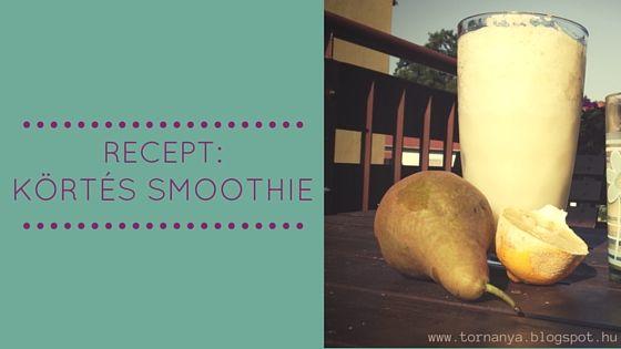 TornAnya: pear smoothie