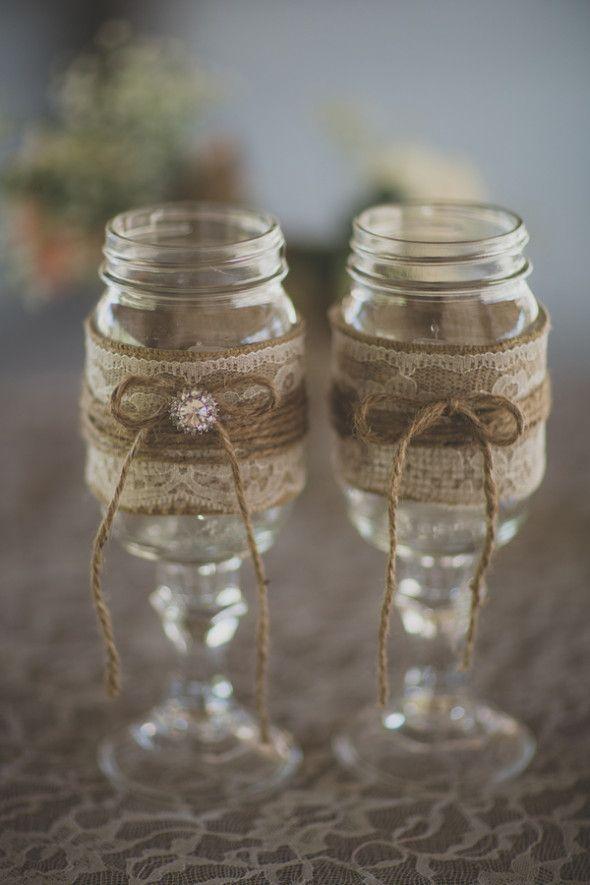 1000 ideas about mason jar wedding favors on pinterest jar wedding favours mason jar - Mason jar goblets ...