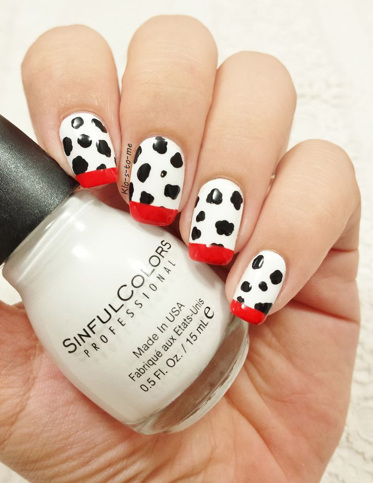 Disney Contest #29– Sinful Colors : Snow me white– China Glaze : Liquid Leather– OPI : Coca Cola Red
