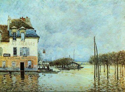 마를리 항의 호수