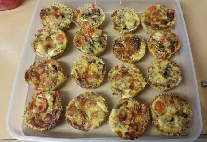 Church Pot Luck Lunch: fp4h quiches *(Mushroom & Tomato)