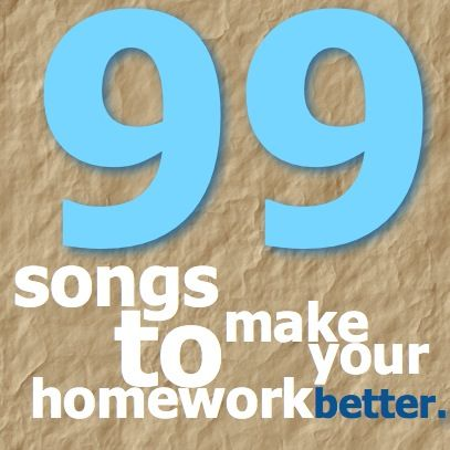 A playlist of 99 songs to listen to while studying