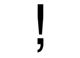 Meet The Obscure Exclamation Comma: Because Excitement Can Happen In The Middle Of A Sentence