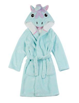 Robe de chambre à motif licorne (du 1 au 8ans)