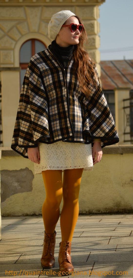 Georgiana Quaint   1960s mods outfit   fashion blog   Look at more pics: http://quaintrelle-georgiana.blogspot.cz/2017/02/parisian-mod-ootd.html