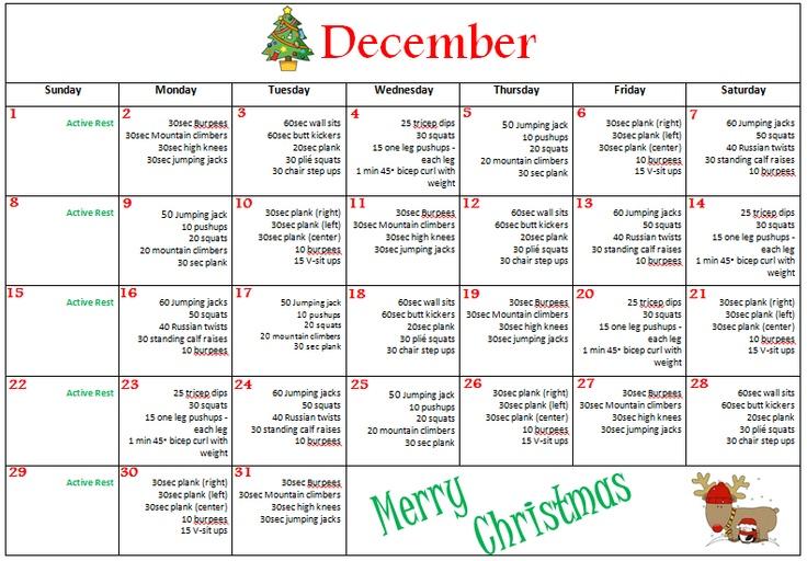 6 monthly calendar