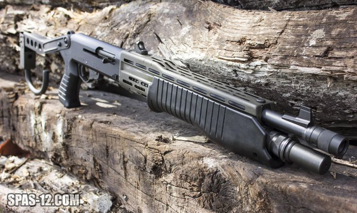 """Custom 18.25"""" barrel Franchi SPAS 12Loading that magazine is a pain! Get your Magazine speedloader today! http://www.amazon.com/shops/raeind"""