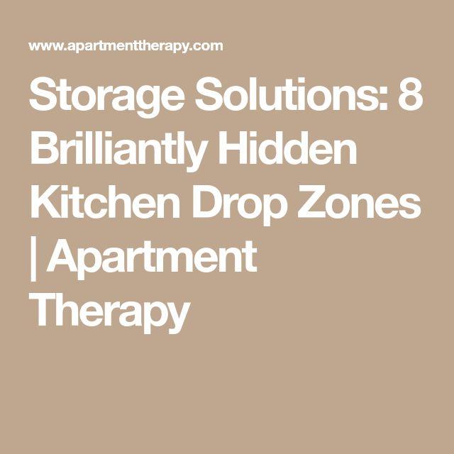Kitchen Storage Zones: Best 25+ Hidden Kitchen Ideas On Pinterest