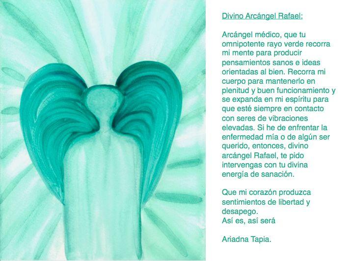 Oración al Arcángel Rafael.