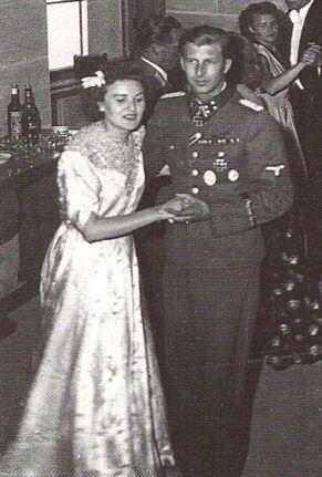 3 June 1944 Gretl Braun married SS-Obergruppenf_hrer Hermann Fegelein_
