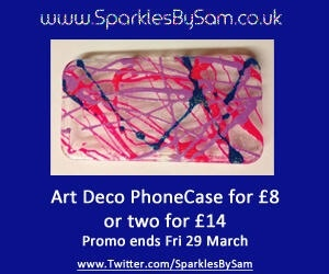 Arg deco cases special intro offer ends midnight tomorrow. Email info@sparklesbysam.co.uk for info. £8 any case any colour combination xx