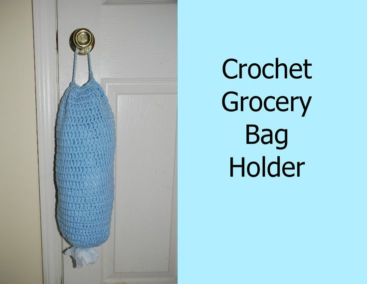 Free Knitting Pattern Grocery Bag Holder : 758 best images about Crochet and Knitting on Pinterest ...