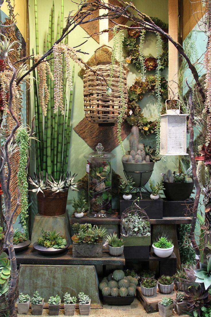 17 best images about garden center merchandising display for Garden display ideas