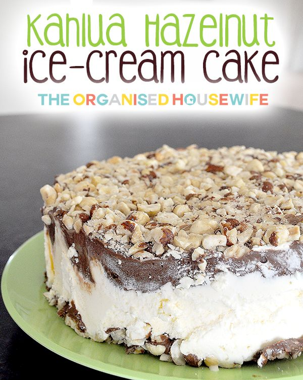 I have lost count now how many years I have made this Kahulua Hazelnut Ice-Cream cake, so many times. When I host Christmas Day lunch or dinner at my home THIS IS OUR CHRISTMAS DESSERT.  It's reall...