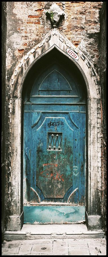 Venice Church Door Photograph by Peter Aitchison - Venice Church Door Fine Art Prints and Posters for Sale