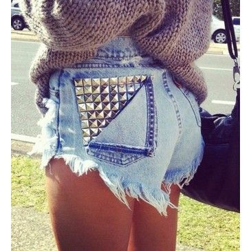 25 best High-waisted Shorts images on Pinterest