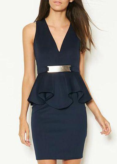 Great navy dress!