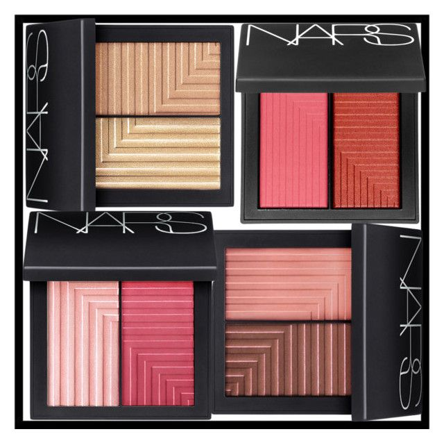 """""""NARS BLUSH PALETTES"""" by poshology ❤ liked on Polyvore featuring beauty and NARS Cosmetics"""