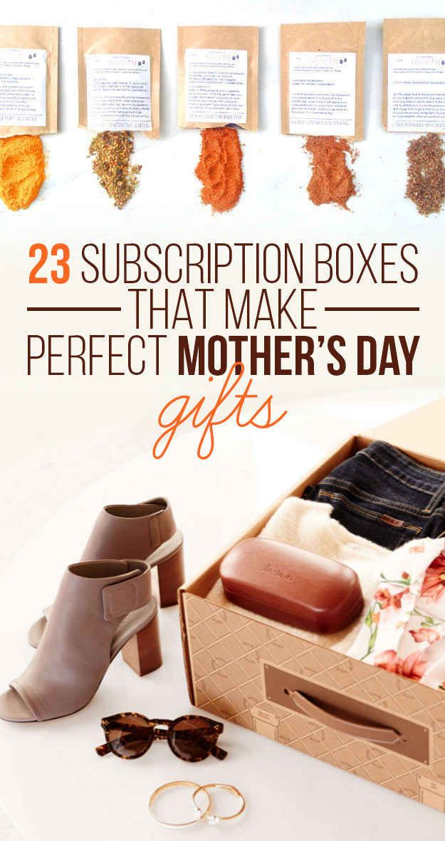 23 Subscription Boxes That Make Perfect Mother's Day Gifts