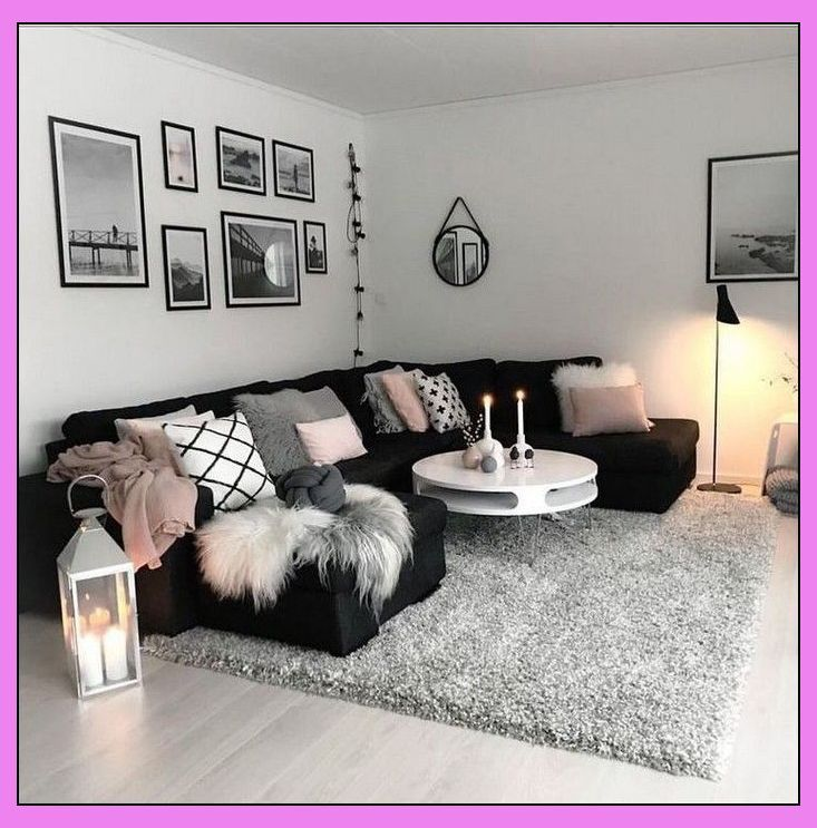 83 Smart First Apartment Decorating Ideas On A Budget Page 44 Living Room Ideas On A Bu Living Room Decor Apartment Black Living Room Living Room Decor Cozy